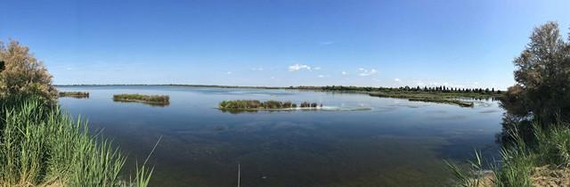 Vista della laguna sud