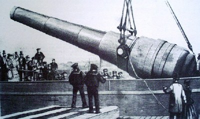 cannone Armstrong da 100 ton