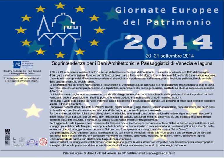 Giornate Europee del Patrimonio 2014