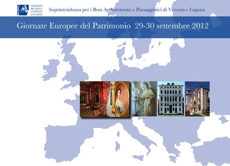 Giornate Europee del Patrimonio 2012 - depliant