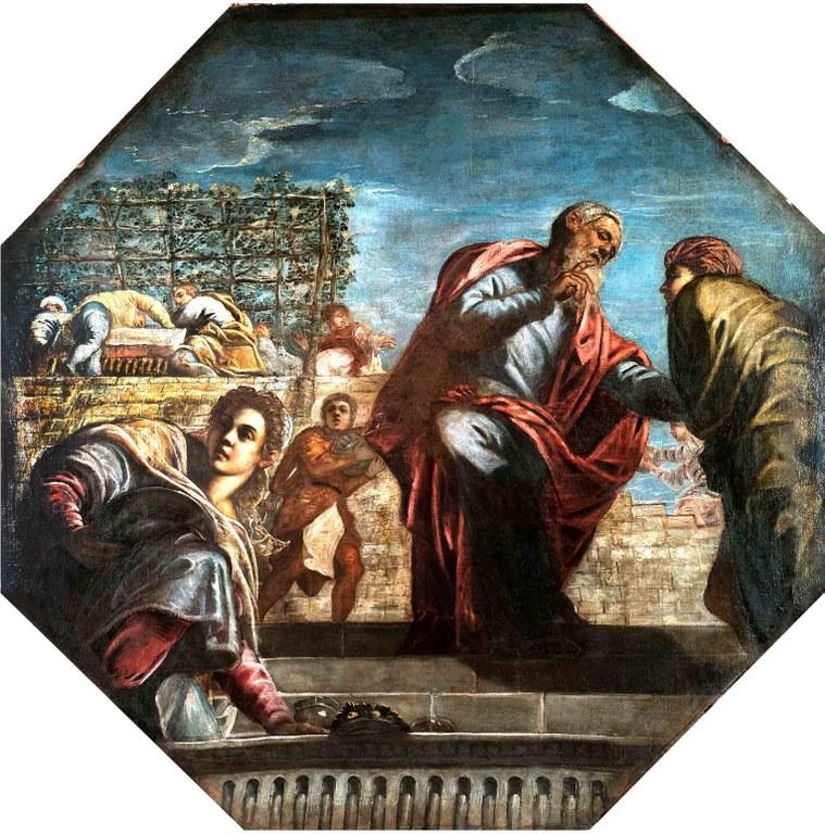 J. Tintoretto, Il ritorno del figliol prodigo
