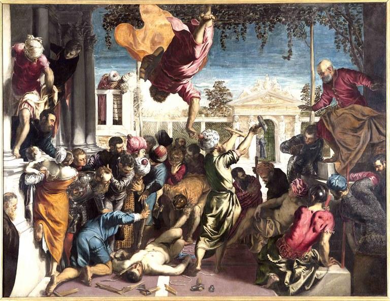 J. Tintoretto, San Marco libera uno schiavo