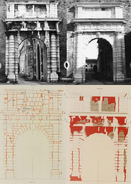I portali delle Artiglierie e delle Sale d'Armi – restauri 1983-1984 (1)