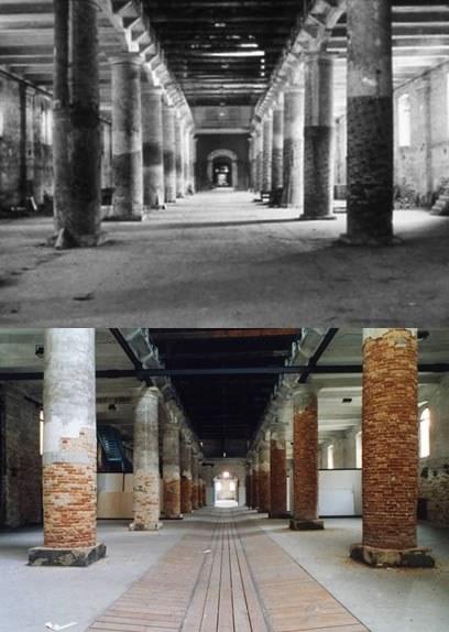 Corderie – restauri 1983-1994