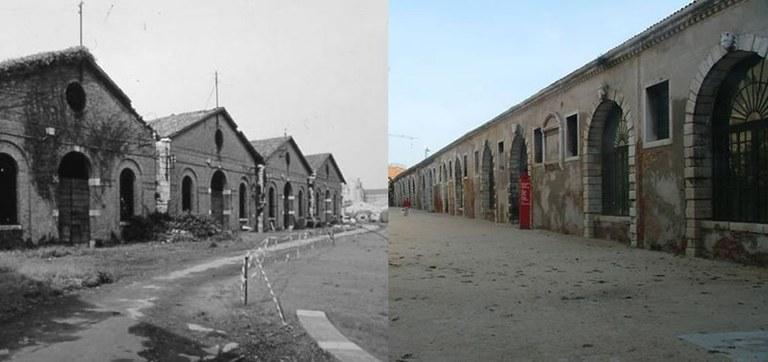 Tese di terra alla Gagiandra e Artiglierie – restauri 1990-2000 (esterni)