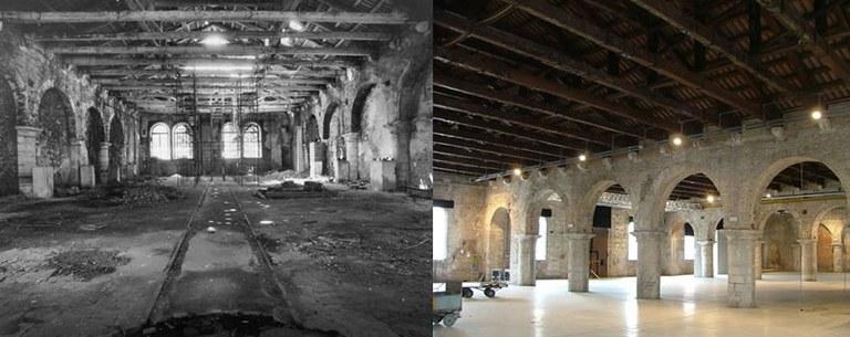 Tese di terra alla Gagiandra e Artiglierie – restauri 1990-2000 (interni)