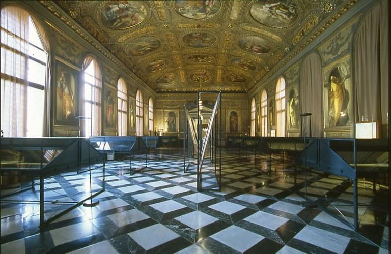 Interni della Biblioteca Marciana