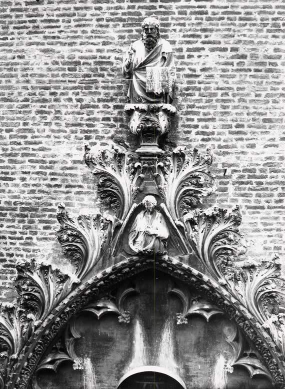 portale prima del restauro