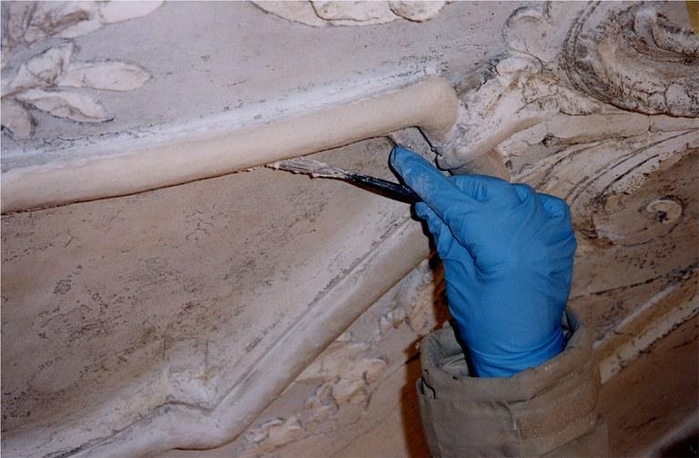 Stuccatura e sigillatura dei bordi
