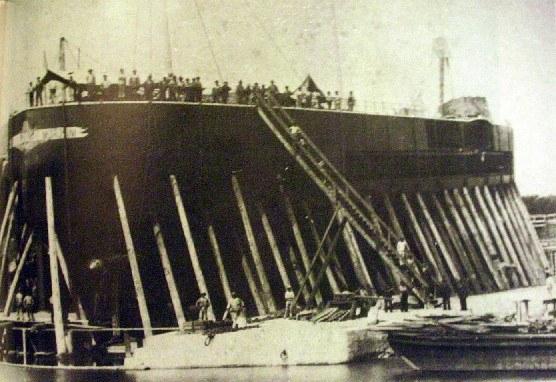 La corazzata Francesco Morosini