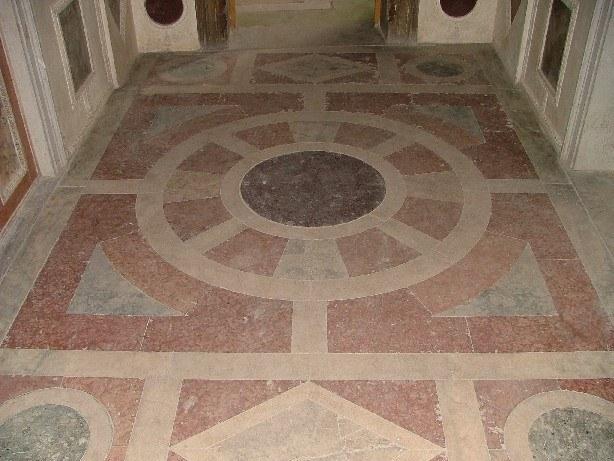 Palazzo Grimani a Santa Maria Formosa: pavimento vestibolo