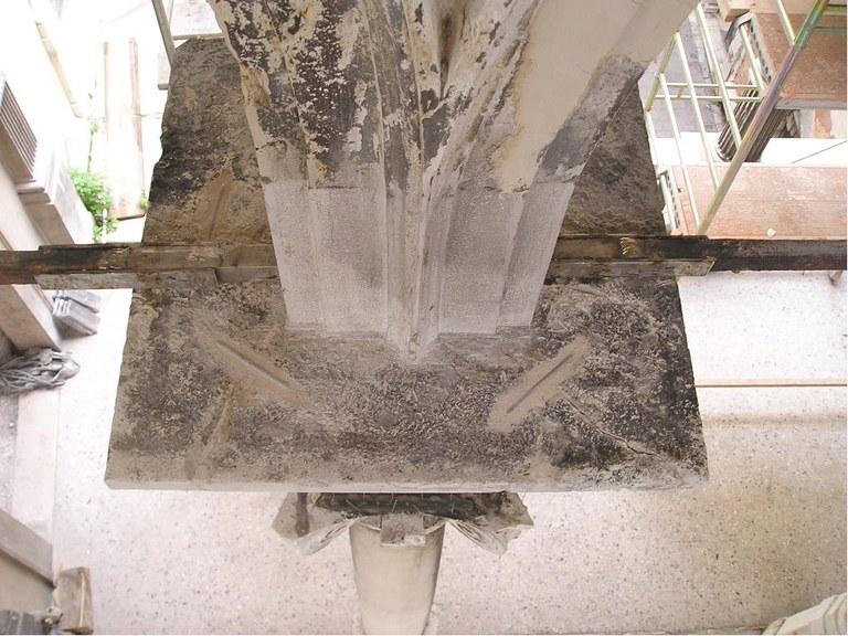 Ricostruzione dell'archivolto