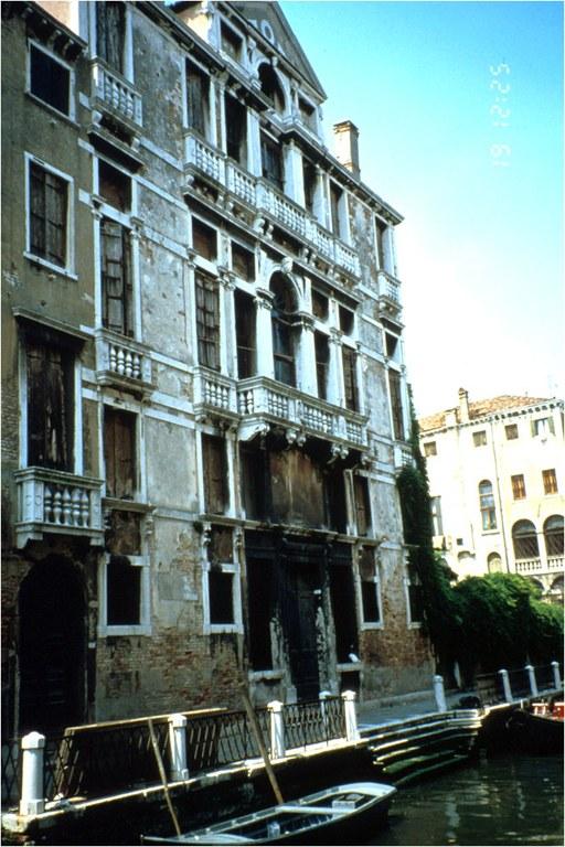 Palazzo Soranzo Cappello prima del restauro