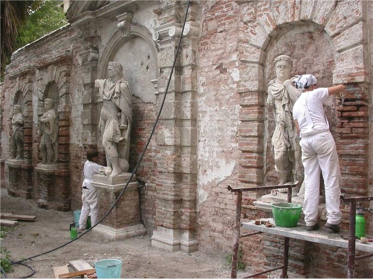 Restauro paramenti murari