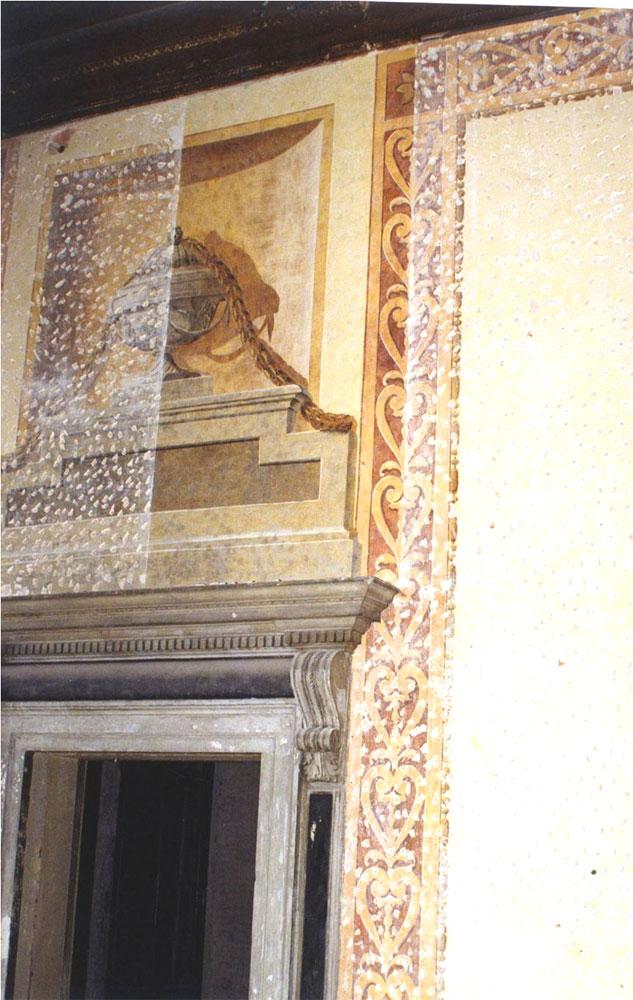 Restauro delle decorazioni del Salone Passante
