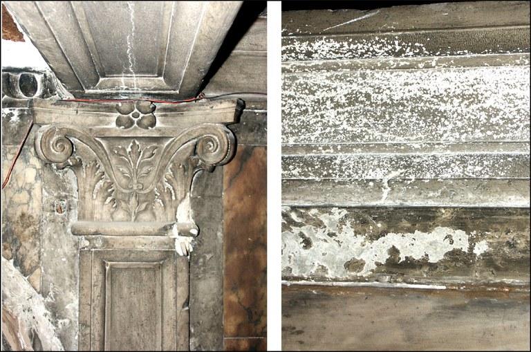 Rivestimenti marmorei e murature