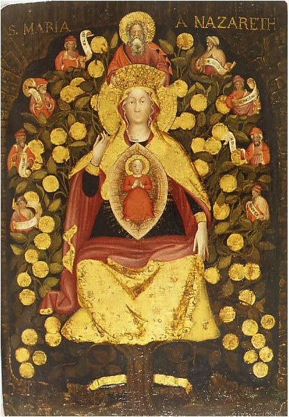 Madonna del Carmelo dopo l'intervento