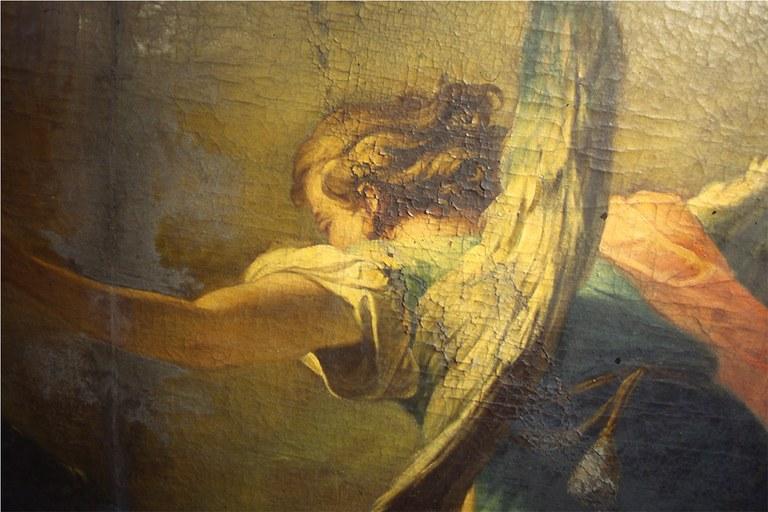 Sogno di S.Elena prima del restauro