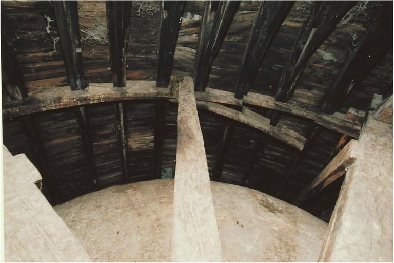 Stato di degrado della struttura lignea e del tavolato