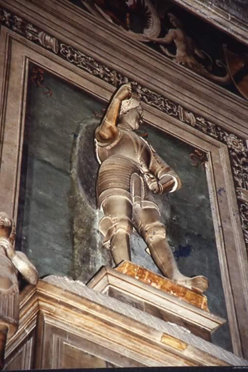 statua del condottiero