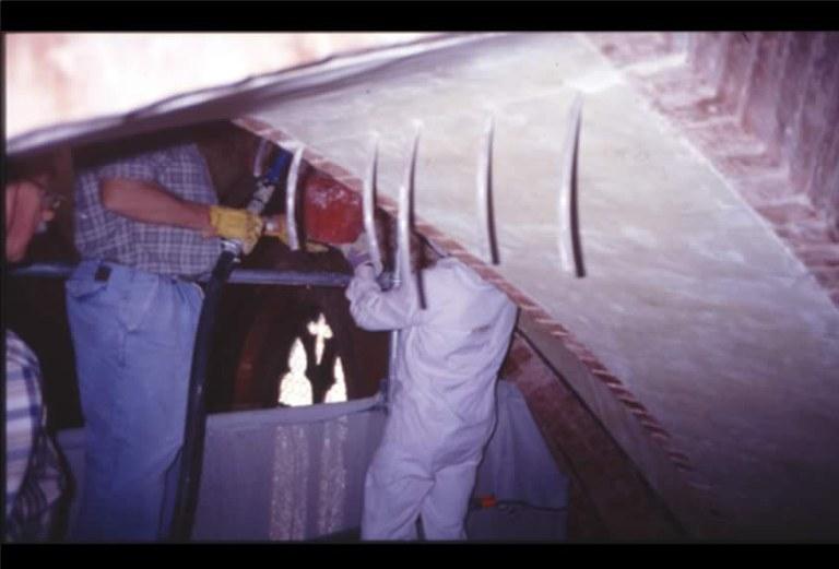 restauro di archi e volte