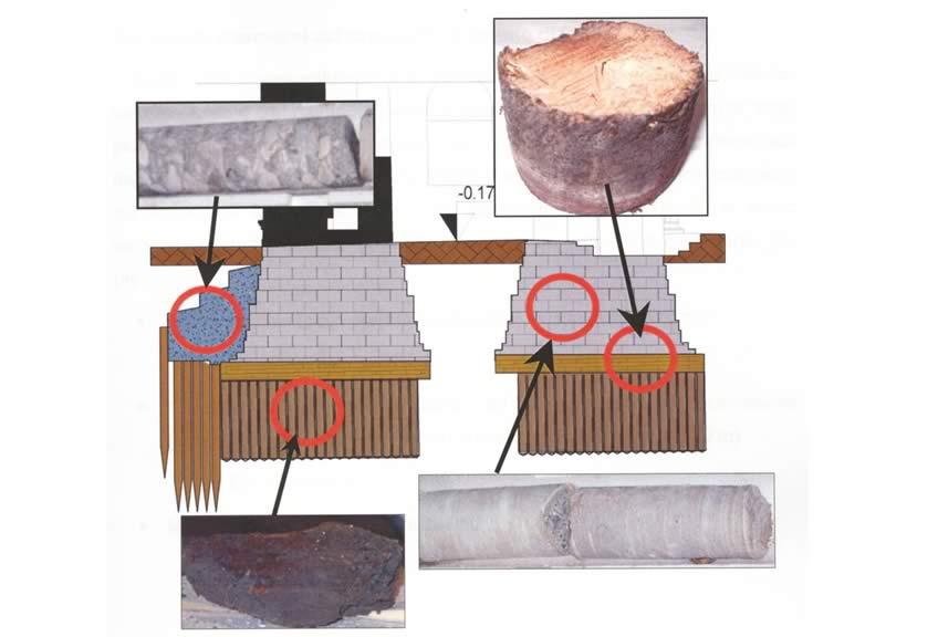 caratteristiche fisiche e meccaniche del masso fondale