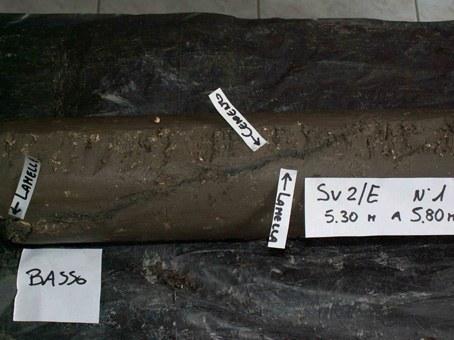 stratigrafia del terreno di fondazione