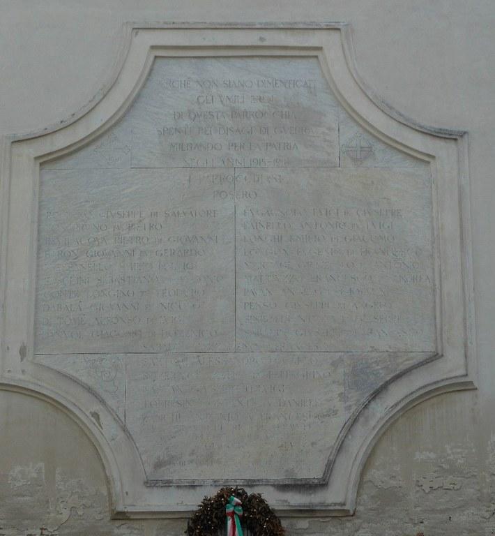 2. Chiesa dell'Angelo Raffaele, lapide commemorativa