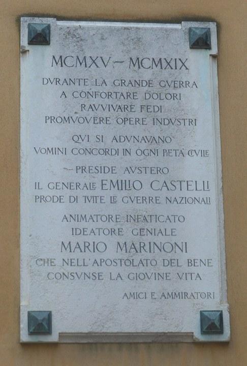 Teatro La Fenice lapide commemorativa