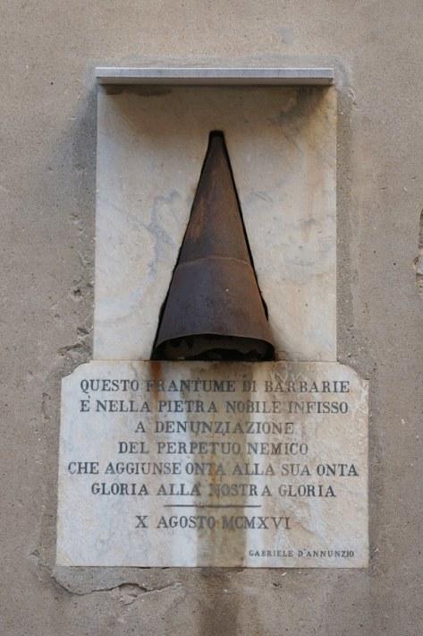 Campiello Albrizzi, lapide commemorativa